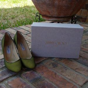 Jimmy Choo Honey Comb Heels